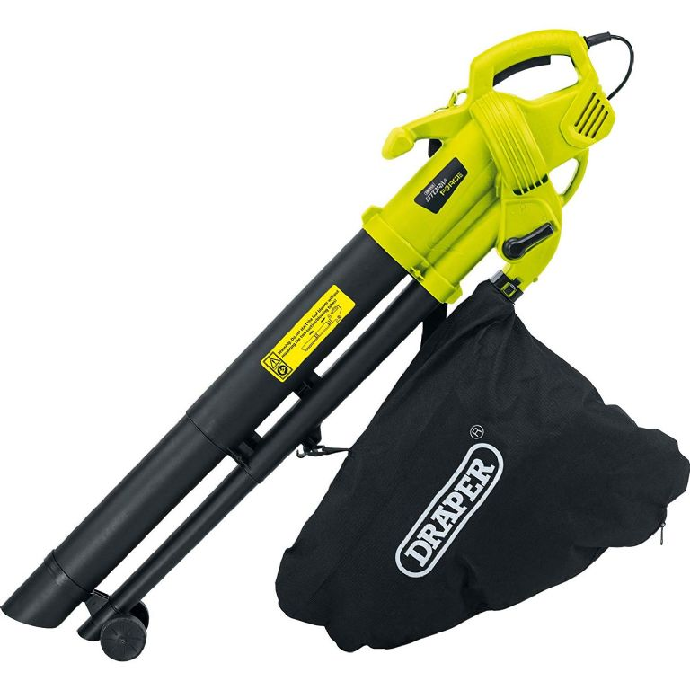 Draper Storm Force Garden Vacuum Blower & Mulcher 230V 300W 82104