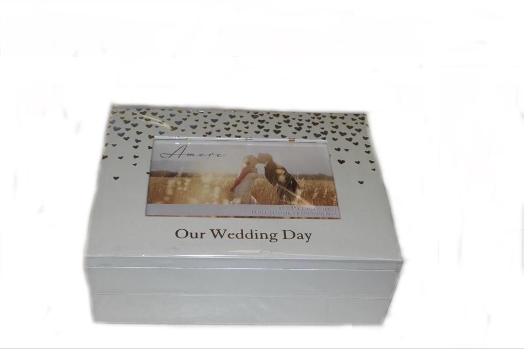 Our Wedding Day Keepsake box