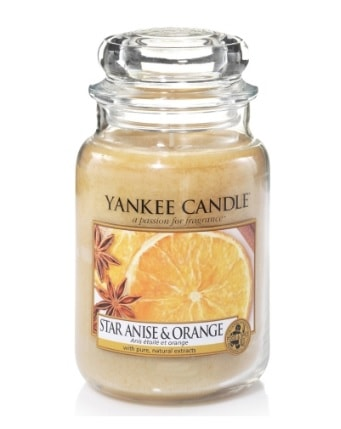 Yankee Star Anise & Orange Large Candle