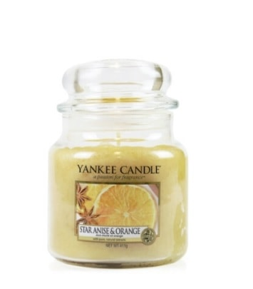 Yankee Star Anise & Orange Medium Candle