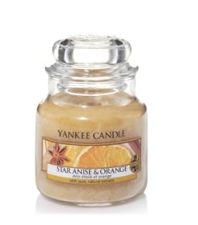 Yankee Star Anise & Orange Small Candle