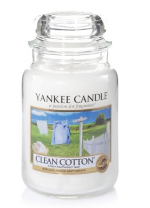 Yankee Candle Clean Cotton Large Candle