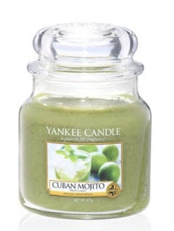Yankee Candle Cuban Mojita Medium Jar