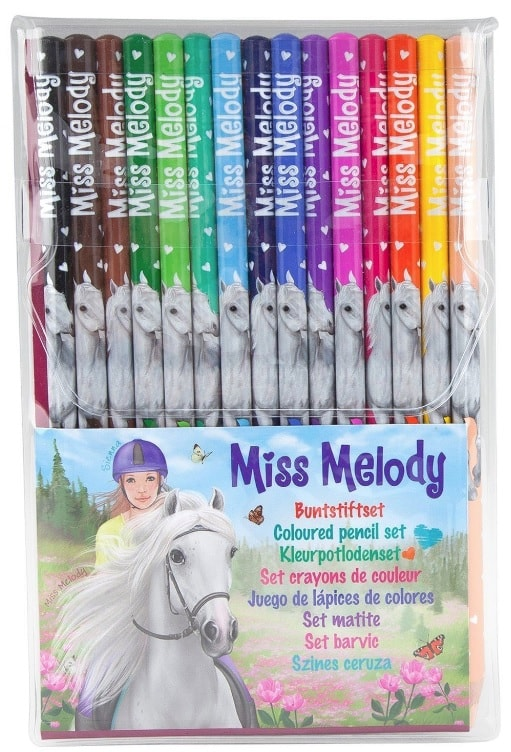 Miss Melody Colouring Pencils