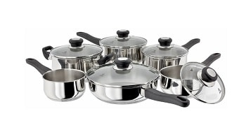 Judge Vista 6 Pce Saucepan Set