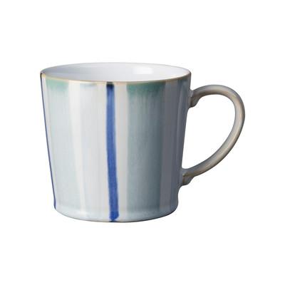 Denby Handcrafted Blue Stripe Mug