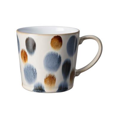 Denby Handcrafted Brown Spot Large Mug