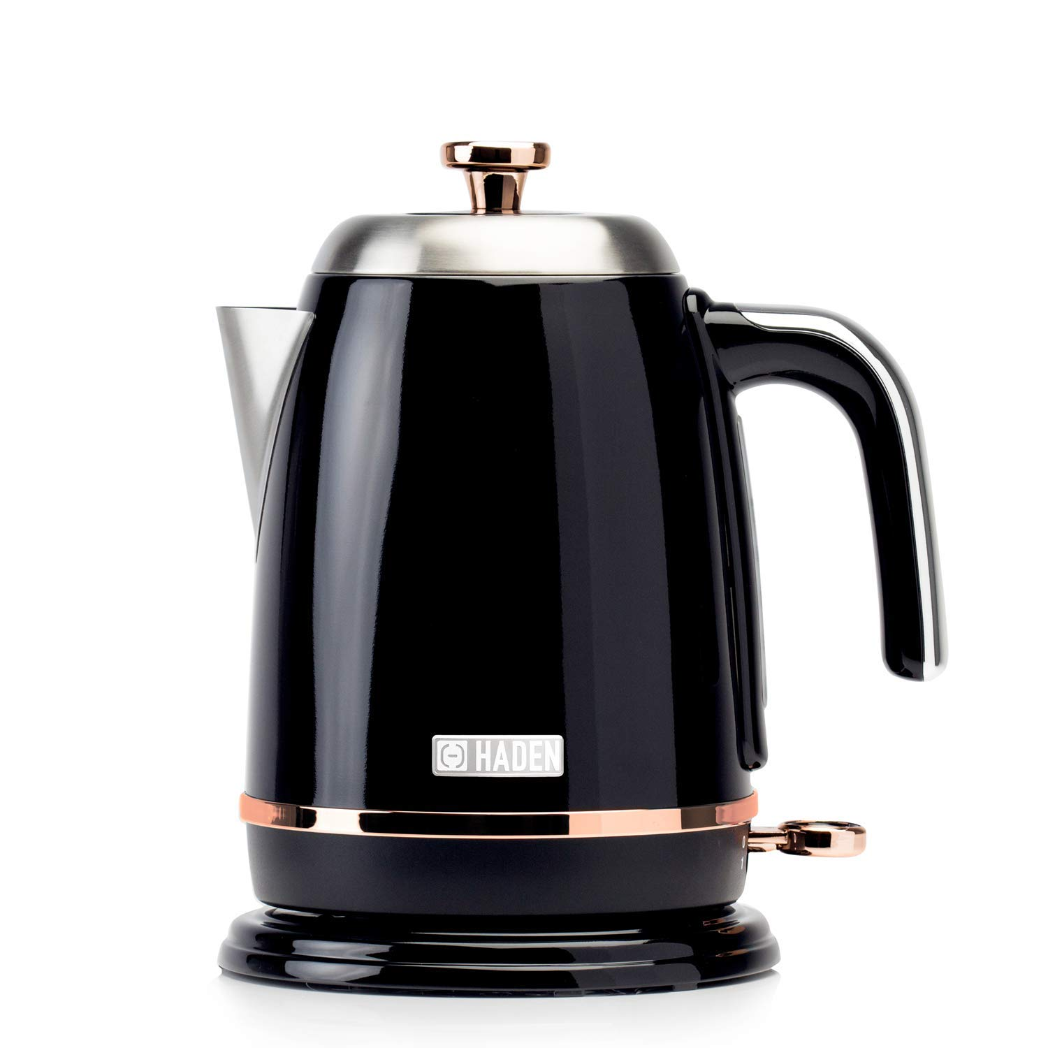 Haden Salcombe Kettle Black & Copper 1.7L