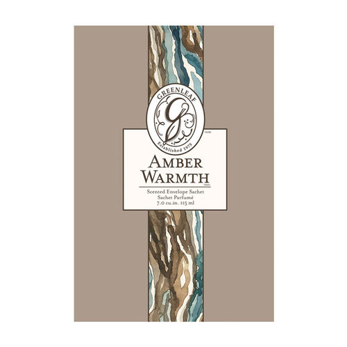 Greenleaf Amber Warmth Scented Envelope Sachet