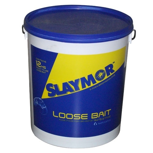 Slaymor Professional Rat & Mouse Poison 10 Kg Bucket
