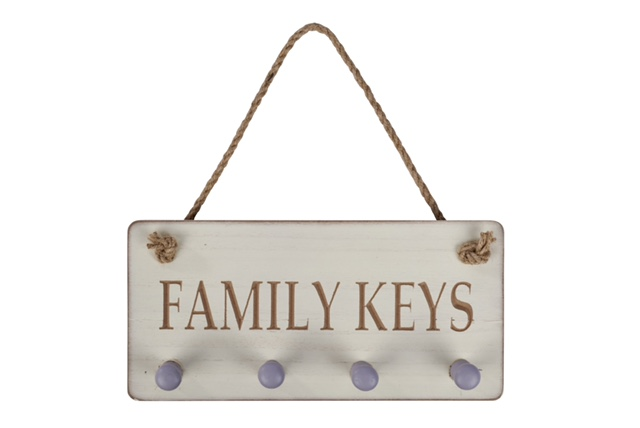 Family keys Plaque