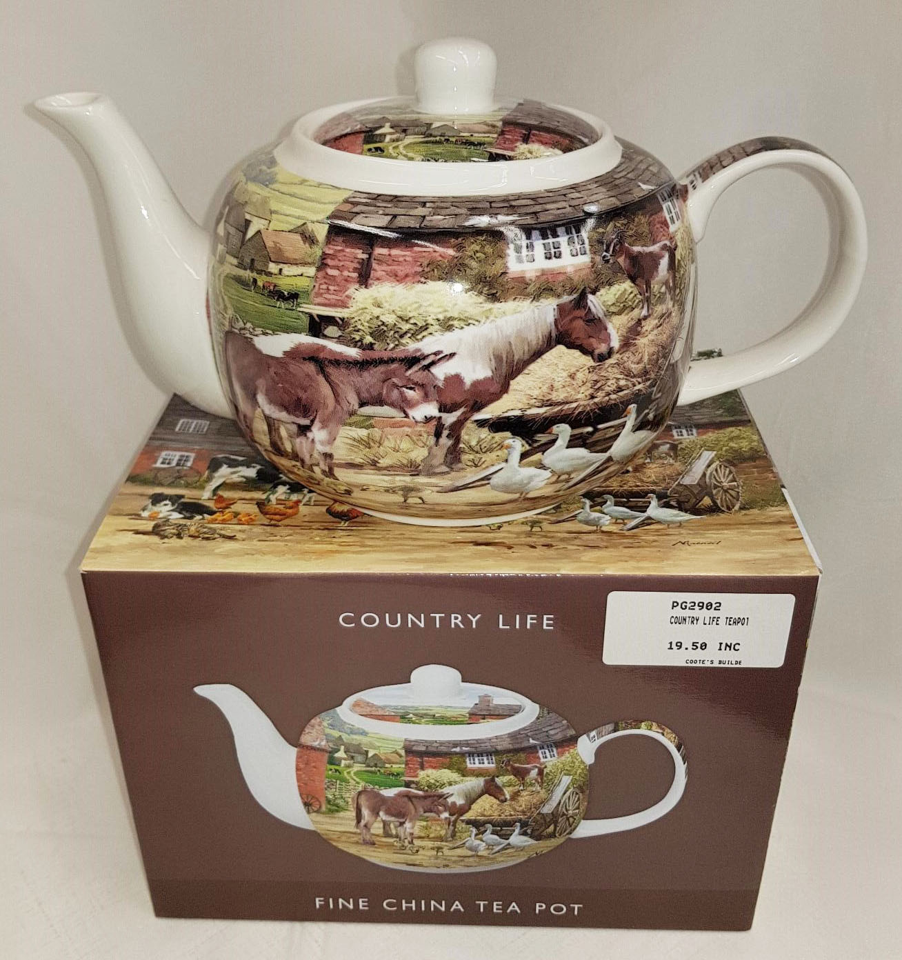 Country Life Teapot