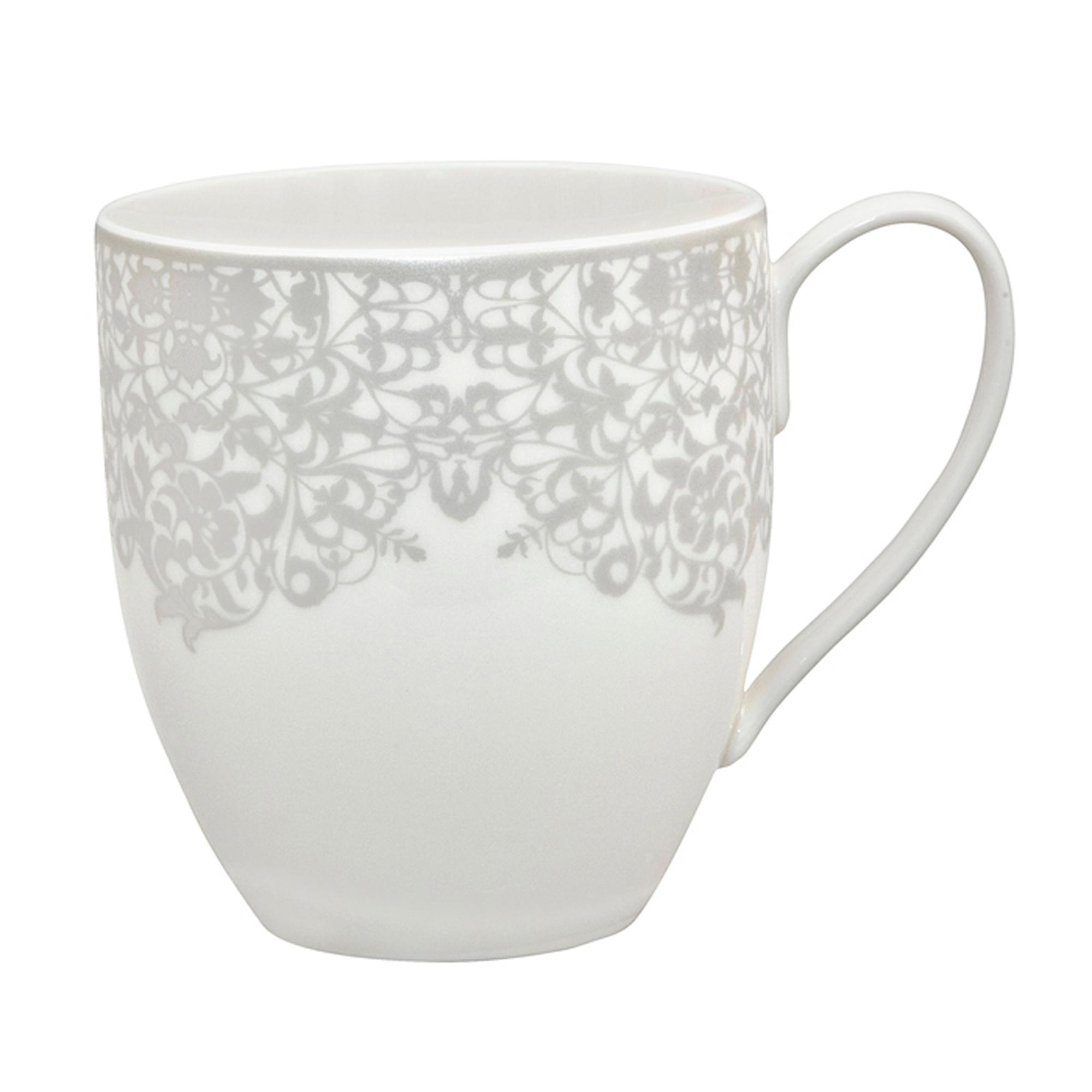 Filigree Silver Large Mug