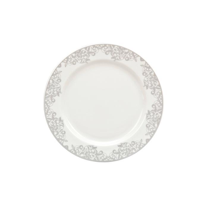 Filigree Silver Dinner Plate