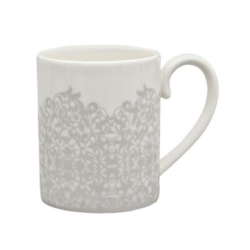 Filigree Silver Small Mug