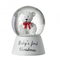 SNOWGLOBE BABY'S FIRST CHRISTMAS