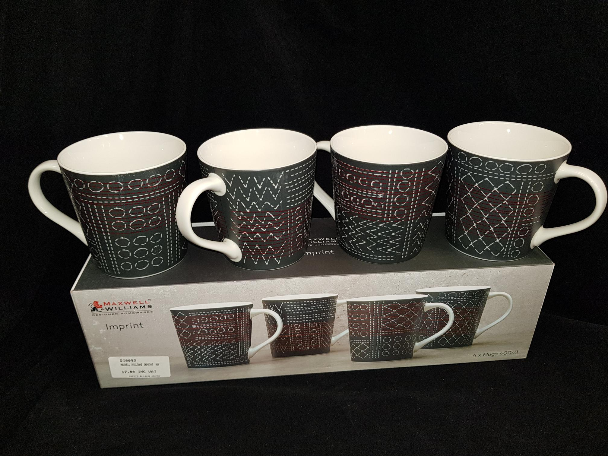 Maxwell Williams Imprint Mugs