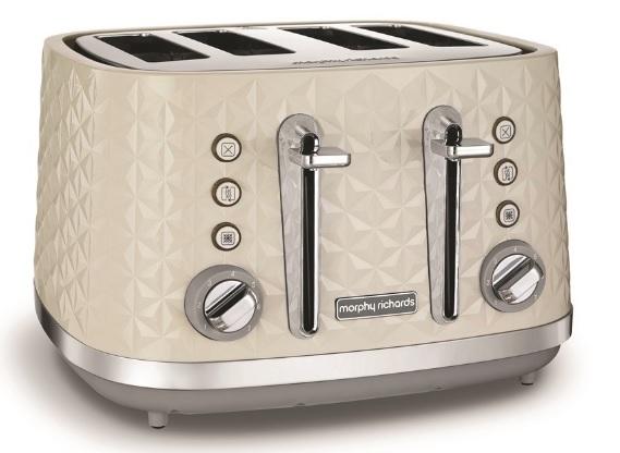 Morphy Richards Vector Four Slice Cream Toaster