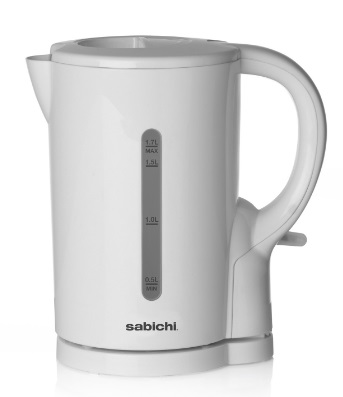 Sabichi 1.7ltr White Kettle