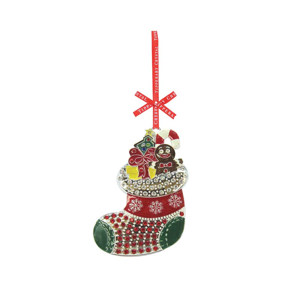 Tipperary Crystal Decoration Sparkle Stocking