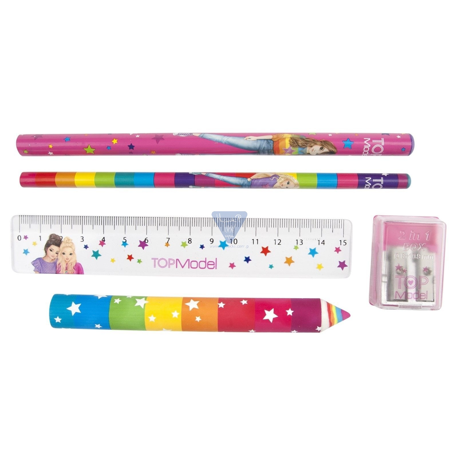 Top Model Stationery Pencil Case Set